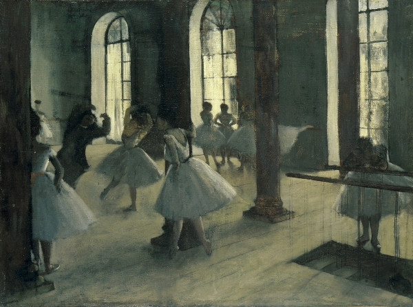 The Dance Rehearsal