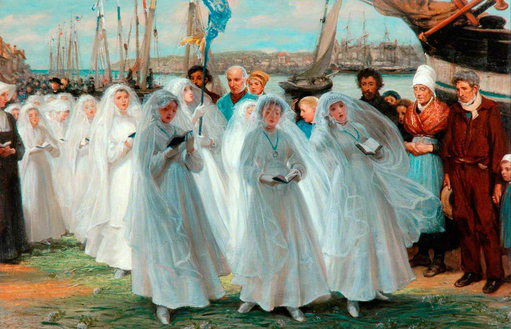 The First Communion, Dieppe