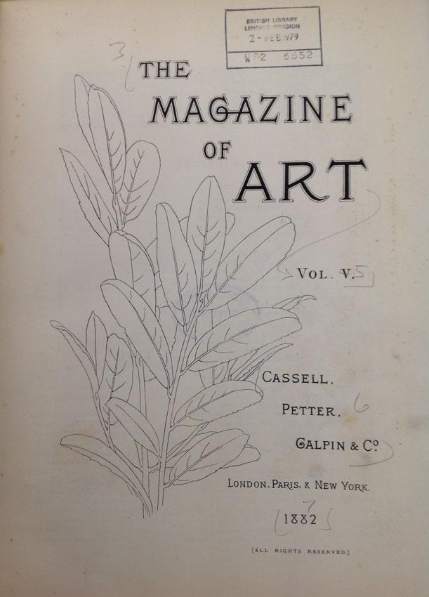 Magazine of Art